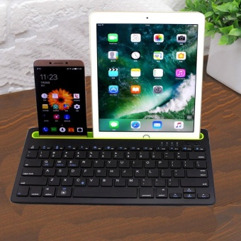 YBC Portable Universal 2.4GHz Bluetooth 3.0 Keyboard With Card Slot For iOS Android Windows - intl