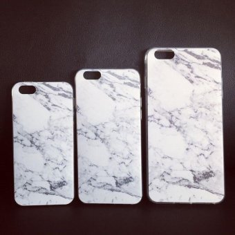Detail Gambar YBC silikon Slim yang lembut granit marmer tekstur karet Gel TPU case penutup untuk Iphone 6s Plus dan Variasi Modelnya