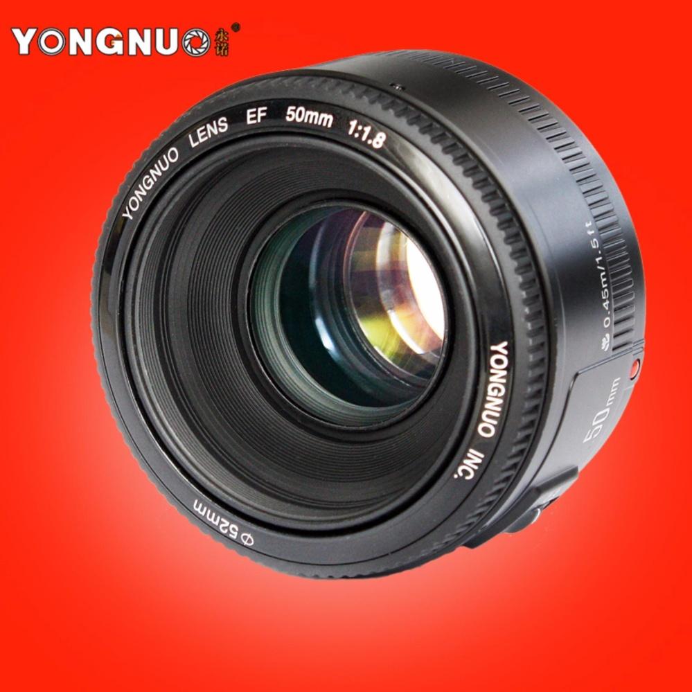 Flash Sale Yongnuo Yn 50mm Lens Fixed Focus Ef F 18 Af Mf Fix For Canon Lense