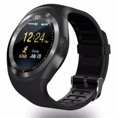 Young YOUNG STAR Y1 Bulat Bluetooth 3.0 Dpt Dipakai Smart Watch Pria Women Klasik Bisnis Smartwatch untuk Android-Intl