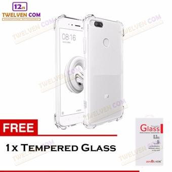Zenblade Anti Shock Anti Crack Softcase Casing for Xiaomi Mi A1 / Mi 5x - Free Tempered Glass