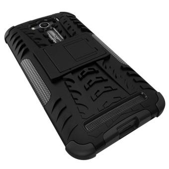 ZenFone 2 Laser ZE500KL Back Case Armor Hybrid Rugged Heavy DutyHard Case Cover with Kickstand for ASUS ZenFone 2 Laser 5.0 InchZE500KL - intl