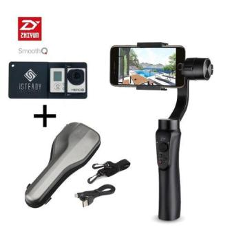 Zhiyun-Tech Smooth Q 3-Axis Gimbal Stabilizer PAKET Aksesories