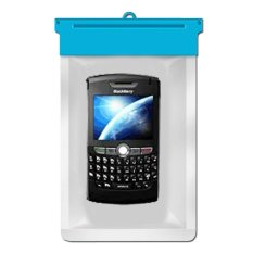 Zoe Blackberry 8820 Waterproof Bag Case - Biru