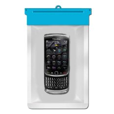 Zoe Blackberry Torch 9800 Waterproof Bag Case - Biru