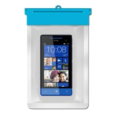 Zoe HTC Windows Phone 8S Waterproof Bag Case - Biru