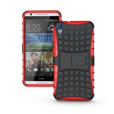 Zoeirc Heavy Duty Shockproof Dual Layer Hybrid Armor Protective Cover with Kickstand Case for HTC Desire 820 - intl