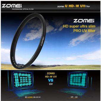 Zomei 52mm UV Ultra-violet Filter Lens (Black)