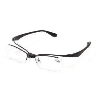 2016 Flip-up TR90 Kacamata Baca Pembaca Makeup Kacamata + 2.5