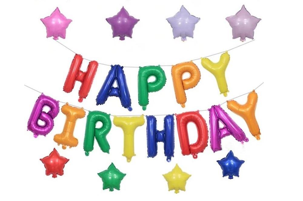 Balon Huruf Happy Birthday Balon Ulang Tahun Huruf Balon Huruf Happy Birthday Murah Dekorasi Ulang Tahun Anak Dewasa Balon Pelangi Balon Tulisan Happy Birthday Jumbo Besar Murah Dekorasi Balon Set Balon Dekorasi