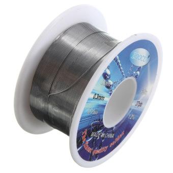 0.3mm Dia fluks inti 63/37 Solder timah Lead kawat Reel - 2