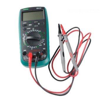 1 Pair Digital Multi Meter Multimeter Test Lead Probes Wire PenCable 1000V 10A - intl