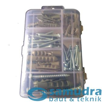 100 Pcs Sekrup Lion Fisher Series S4 - S10 Mini Box Fischer ScrewDIY - 3