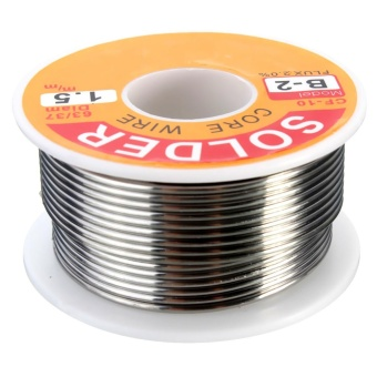 100g 63/37 Tin Lead Rosin Core 0.5-2mm 2% Flux Reel Welding Line Solder Wire 1.5mm - intl