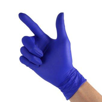 100pcs/kotak 50Pairs sekali pakai sarung tangan Powder Free Non lateks rumah dapur Cleaning makanan Universal S - intl - 5