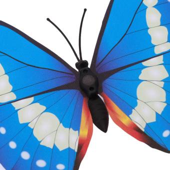 12 Buah 3D Butterfly Wall Stiker Untuk Kulkas Dekorasi Rumah (biru)