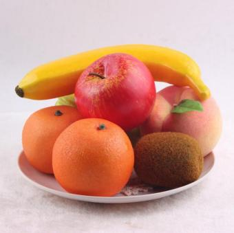 16Pcs High Simulated Fruits with Light Foam Material Simulated Food- intl