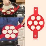 ... 1 PC Non-stick Fantastis Pancake Cincin Silikon Maker Kitchen Penggorengan Cetakan Telur (Merah ...