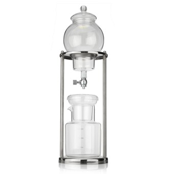 2 Color Dutch Coffee Cold Drip Water Drip Coffee Maker Serve For 8cups 600ml New -