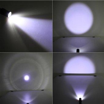 2000LM LED Light Tactical Rechargeable Mini USB Flashlight Torch(Black) - intl - 2