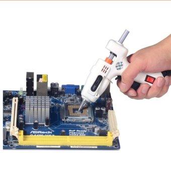 25W Glue Gun High Temp Heater Mini Hot Melt Air Glue Gun ThermoHeating .
