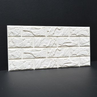 3D Brick Pattern Wallpaper Bedroom Living Room Modern Wall Background TV Decor - intl - 4
