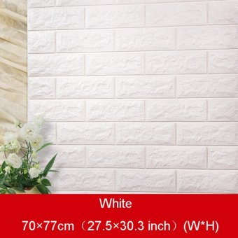 3D Brick Pattern Wallpaper Bedroom Living Room Modern Wall Background TV Decor - intl - 5