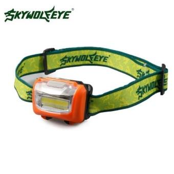 3W Mini Headlight 300Lumens LED Headlamp Flashlight Lamp Head TorchCamping - intl - 5