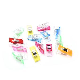 50 buah/kain perca banyak diseduh sendiri heran klip rajutankerajinan kantor alat tulis warnawarni -