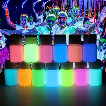 5Pcs Night Luminous Paint Water-based Luminous Paint Party Supplies- intl