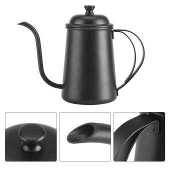 650ML Stainless Steel Gooseneck Spout Kettle Pour Over Coffee Tea Home Brewing Drip .