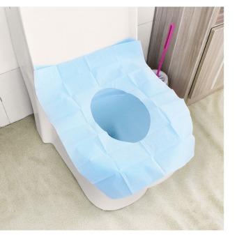 Alas Kertas Kedap Air Disposable Closet Seat Cover Kertas Alas Toilet - 1 Pcs