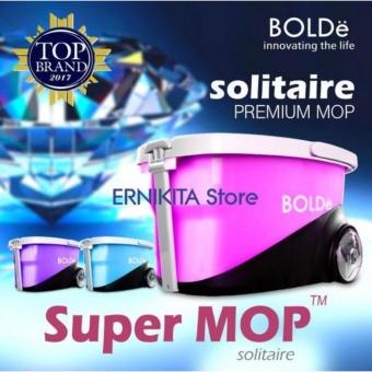 Alat pel SUPER MOP BOLDE SOLITAIRE | Stainless, Dispenser, Roda& Handle