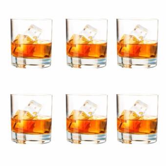 Alibambah Gelas Minum 6 Pcs - Rocks - 320 ml