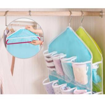 ... Allunique Korean Underwear Pouch Gantungan Serbaguna - Random Colour - 3 ...