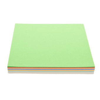 Amango Berwarna Kertas Origami Square Double Sided 100 Pcs