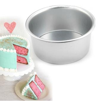Amango Pan aluminium paduan cetakan kue bolu bagian bawah yangdapat dilepas 12.7 cm - 2