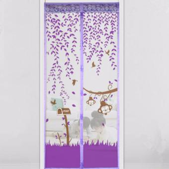 Aiueo Magic Mesh Tirai Magnet Anti Nyamuk Motif Couple Umbrella Source · Pintu Source Harga Magic Mesh Tirai Magnet Anti Nyamuk Motif Heart And