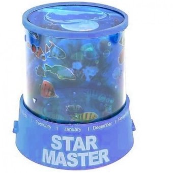 Apstore Lampu Proyektor Star Master Ocean Ikan / Lampu Hias / Lamp Projector / Lampu Tidur