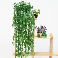Aukey 1Pc 8.2 Feet Artificial Hanging Ivy Leaf Leaves Plants Vine Fake Foliage Decor