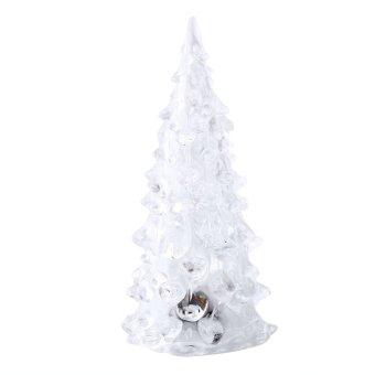 harga Aukey Crystal Color Changing Christmas Tree LED Table Lamp Decor Xmas Gift - intl Lazada.co.id