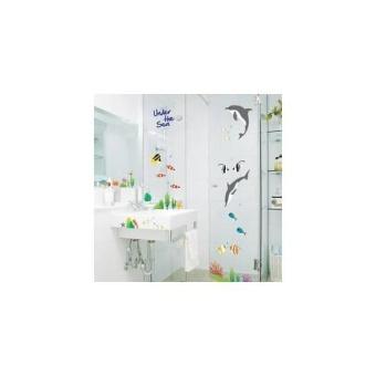 BELI SEKARANG AY752 Wall StickerWall Stiker Transparan 50X70--Under Ocean Klik di sini !!!