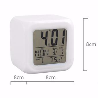 ... Calendar Temperatur Vst 726wx 1 Hita ... - Jam Weker Kring Kring Jam Meja Alarm MMMOS9900. Source · Baby Talk 7 LED Color Change Digital Glowing Alarm ...