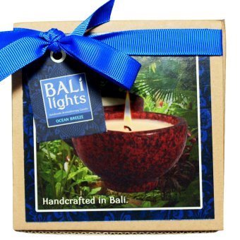 Bali Light Candle Lilin Aromaterapi Scented Ocean Breeze 150g