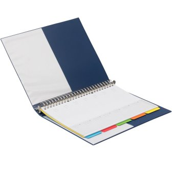 Bantex Multiring Binder 26 Ring 25mm B5 Blue #1326 01