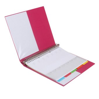 Bantex Multiring Binder 26 Ring 25mm B5 Pink #1326 19