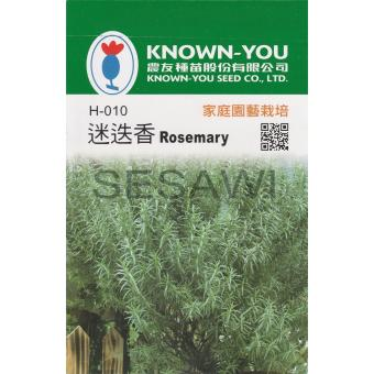 Benih Herbal Rosemary Known You Seed