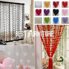 Best Tirai Benang Love uk 100x200 - Multicolor