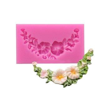 BolehDeals cetakan kue foundant silikon Bunga Daisy Sogokan