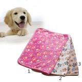 BolehDeals merah hangat kartun bekas cakar anjing bulu selimutlembut bantal untuk alas tidur--M